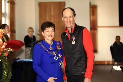 Image of Gary Dickson, of Wanaka, QSO, for services to search and rescue
