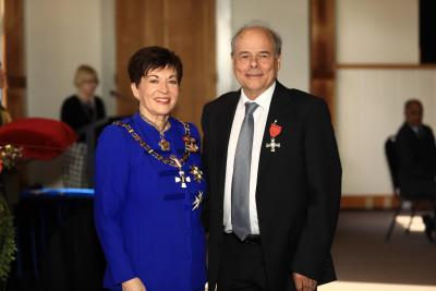 Image of Gordon Wilson, of Dunedin, MNZM, for services to education