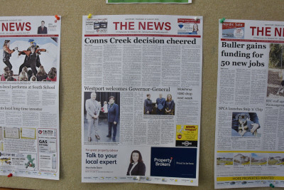 Image of The Westport News's front page