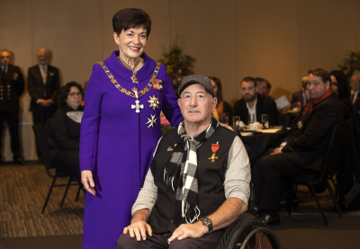 Image of Roly Crichton, of Christchurch, ONZM, for services to Paralympic sport