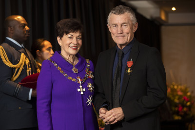 Image of  Tony Kokshoorn, of Greymouth, ONZM, for services to local government and the community
