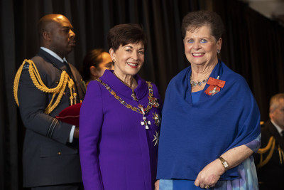 Image of   Yvonne Palmer, of Christchurch, MNZM, for services to seniors and the community