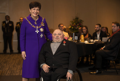 Image of Hadleigh Pierson, of Christchurch, MNZM, for services to paralympic sport