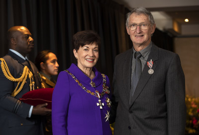 Image of Murray Purvis, of Timaru, QSM, for services to the community and tennis
