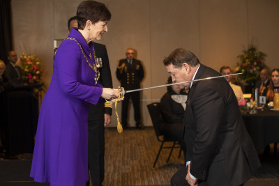 Image of Sir Steve Hansen, of Christchurch, KNZM, for services to rugby