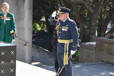 Air Marshal Kevin Short, Chief of Defence