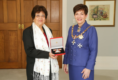 Mrs Priscilla Dawson, of Clevedon, QSM for services to refugees and the Burmese community