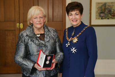 Mrs Gayle Marshall, of Auckland, QSM for services to the community