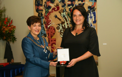 Mrs Kiri Nathan, of Auckland, MNZM for services to Māori and the fashion industry