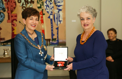 Ms Naomi McCleary, of Auckland, MNZM for services to the arts