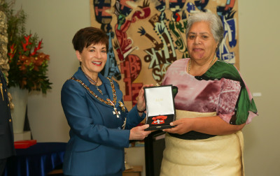 Ms Lita Foliaki, of Auckland, MNZM (Honorary) for services to the Pacific community