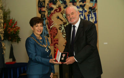 Mr James Muir, of Tauranga, QSM for services to the community