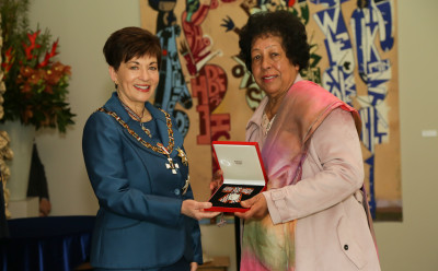 Mrs Maher Singh, of Auckland, QSM for services to seniors and the community