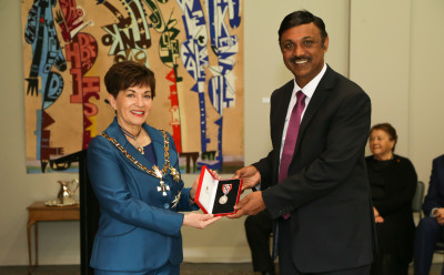 Mr Pravin Kumar, of Auckland, QSM for services to the Indian community