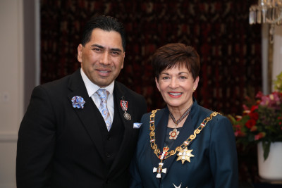 Mr Terence Tauira, of Porirua, QSM for services to the Pacific community
