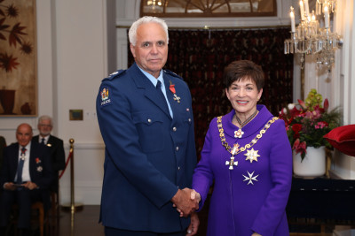 Image of Senior Sergeant Bryan Smith, of Hastings, MNZM, for services to the New Zealand Police and the community