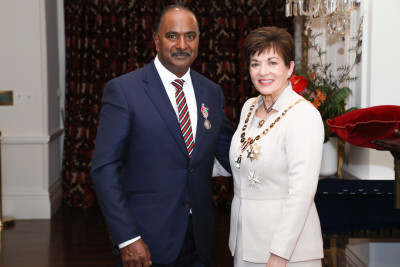 Image of Suresh Patel, of Dannevirke, QSM, for services to the community and sport