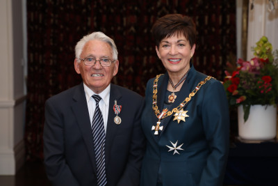 Mr Jim Thomas, of Blenheim, QSM for services to victim support and the community