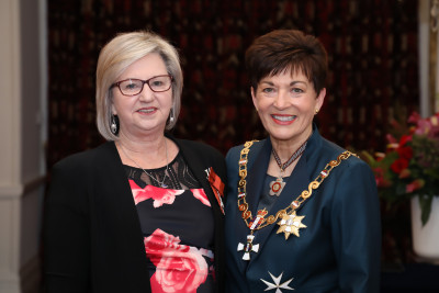 Mrs Jenny Noble, of Tauranga, MNZM for services to health, particularly research for rare diseases