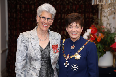 Dr Sarah Leberman, of Palmerston North, MNZM for services to women, sport and tertiary education