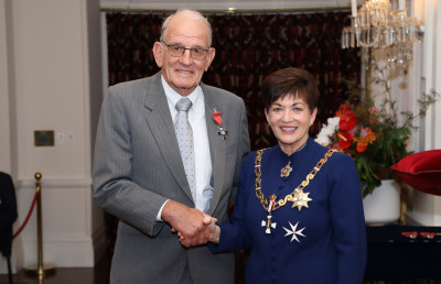 Mr Don McKay, of Maungaturoto, MNZM for services to seniors and the community