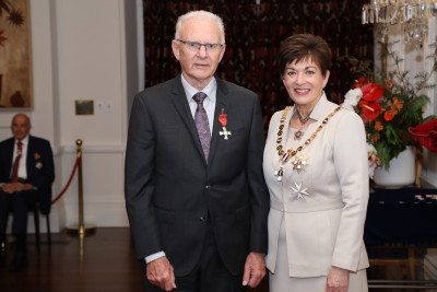 Image of Don O'Connor, of New Plymouth, MNZM, for services to motorsport
