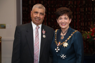 Mr Chandu Daji, of Auckland, QSM for services to the Indian community and sport
