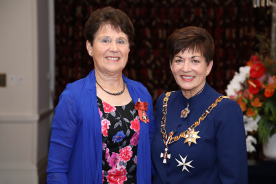 Mrs Mary Thompson, of Rotorua, MNZM for services to netball administration
