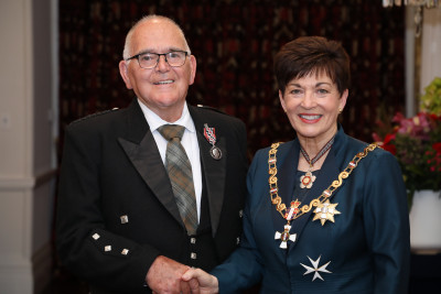 Mr Bill Sharp, of Lower Hutt, QSM for services to youth