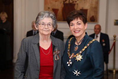Mrs Cushla Scrivens, of Palmerston North, QSM for services to historical research and heritage preservation