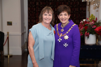 Image of Sharon Kearney, of Akaroa, MNZM, for services to physiotherapy and netball