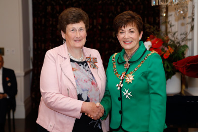 Miss Melva Robb, of Blenheim, QSM for services to rural communities and women