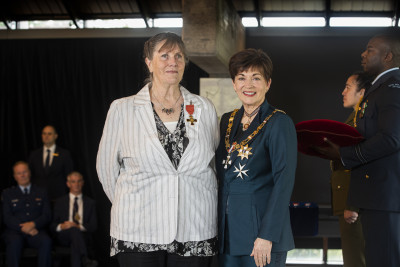 Image of Anne Richardson, of Hororata, ONZM, for services to wildlife conservation