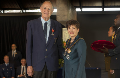 Image of Peter Smale, of Motueka, MNZM, for services to seniors, the community and horticulture