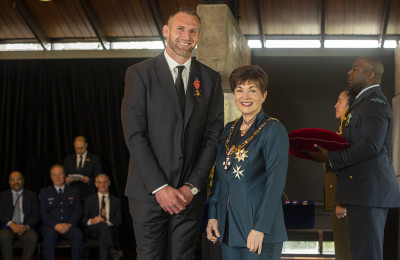 Image of Kieran Read, of Christchurch, ONZM, for services to rugby