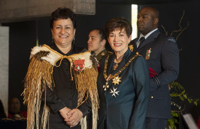 Image of Lynne Harata Te Aika, of Christchurch, MNZM, for services to Māori language education