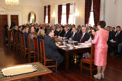 Dame Patsy speaks to the new Ministry