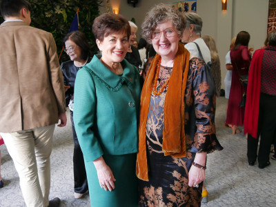Image of Dame Patsy and Liz Mitchell