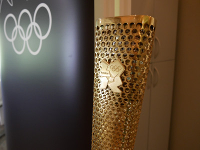 Image of an Olympic torch