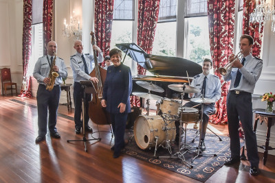 Image of Dame Patsy and the Air Force Jazz Band