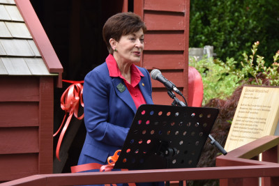 Dame Patsy Reddy speaks about the Wairarapa