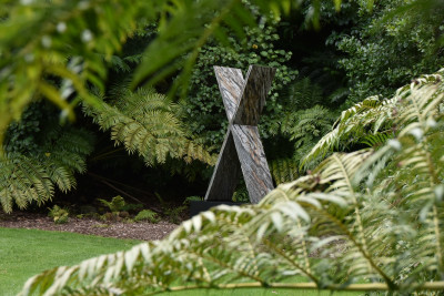 Gill Gatfield's Zealandia sitting in the grounds of Government House Auckland