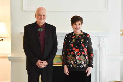 Image of Dame Patsy and Dr Sandy Adsett