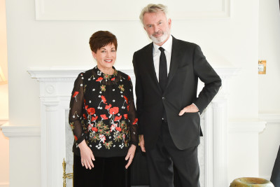 Image of Dame Patsy and Sam Neill
