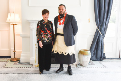Image of Dame Patsy and Harriet Friedlander Residency recipient Kalisolaite 'Uhila