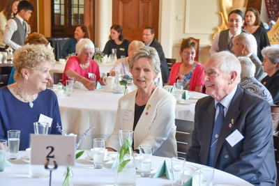 Image of guests at the morning tea