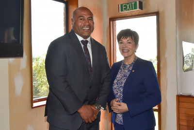 Dame Patsy and MIke Mika of the Southland Licensing Trust