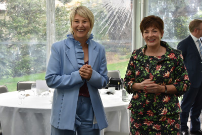 Dame Patsy and Vicky Robertson, Secretary for the Environment