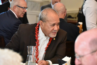 Image of HE Leasi Papali'i Tommy Scanlan, Dean of the Diplomatic Corps
