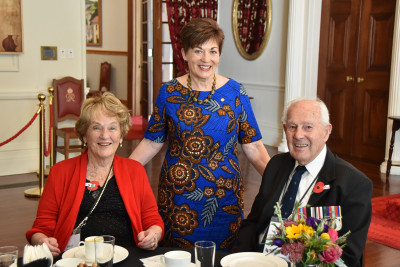 Image of Dame Patsy with Beryl and Graham Boswell